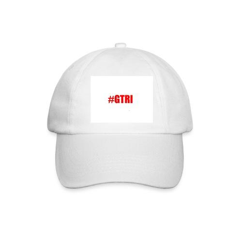 logo white cap - Baseball Cap