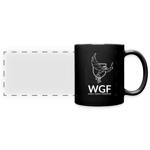 Mug noir WGF - Mug panoramique uni