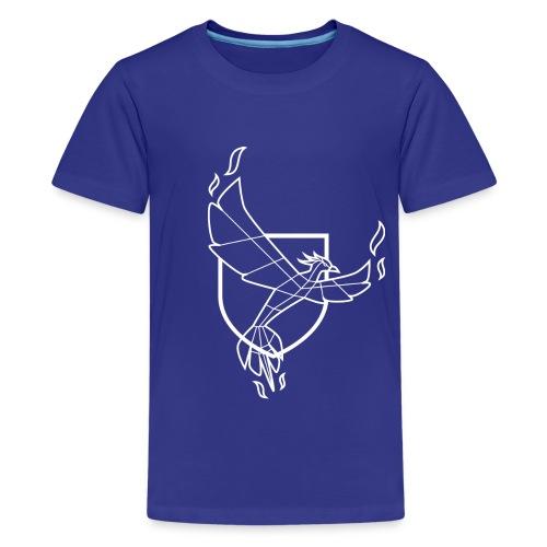 Tee-shirt homme couleur col rond WGF - T-shirt Premium Ado