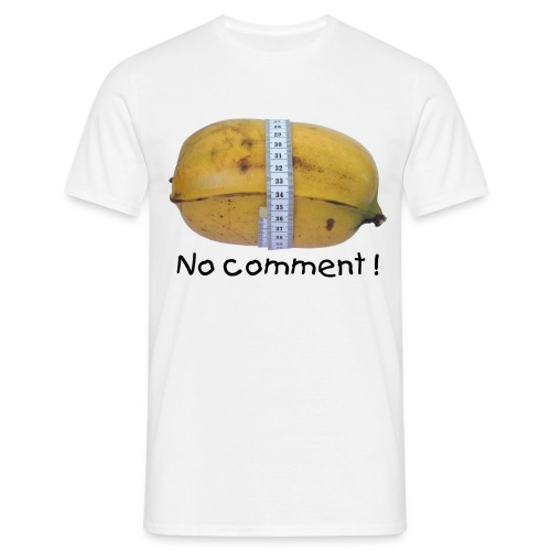 Banana - No comment ! - T-shirt Homme