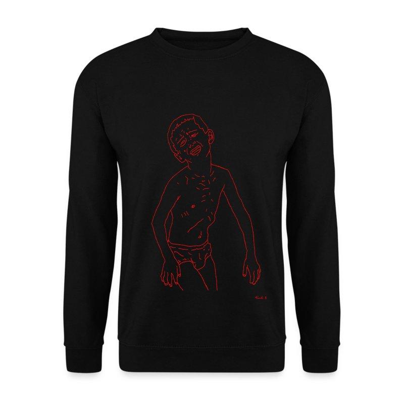 Boy Running - Men's Sweatshirt