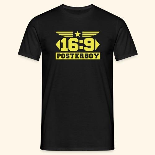 XL Posterboy - Männer T-Shirt