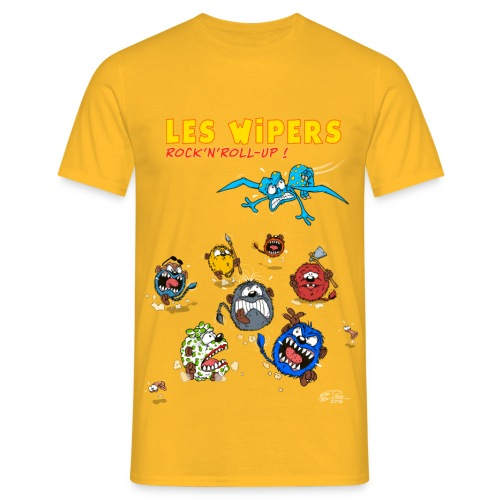 Les WIPERS 2 - T-shirt Homme