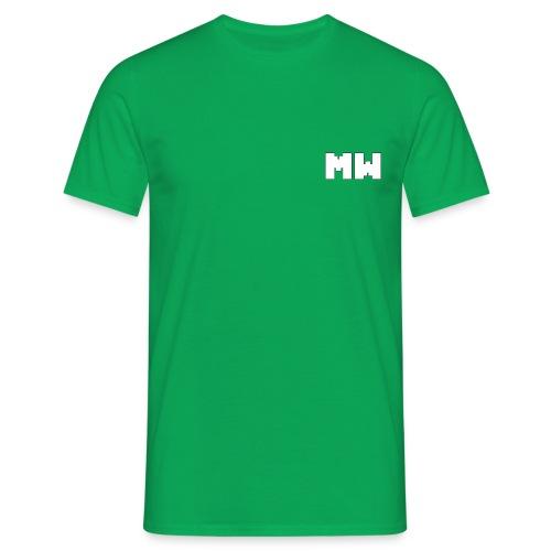 Green T-Shirt Logo - Camiseta hombre