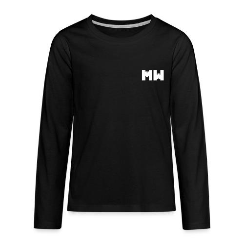 Sueter Logo - Camiseta de manga larga premium adolescente