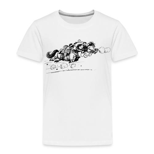 Thelwell Western Pony run away - Kids' Premium T-Shirt