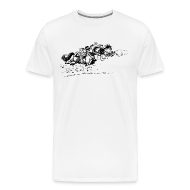 T-Shirts ~ Männer Premium T-Shirt ~ Thelwell Western Pony run away