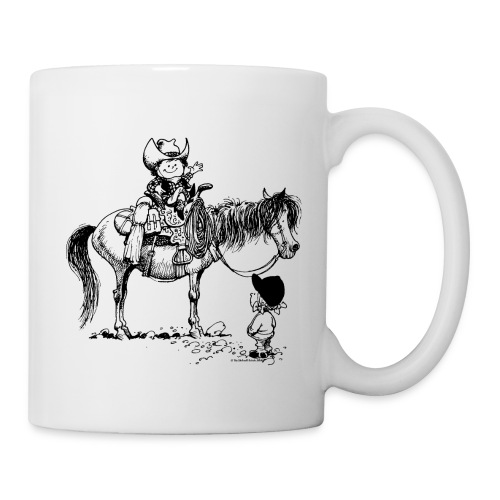 Thelwell Cowboy with his Pony - Mug