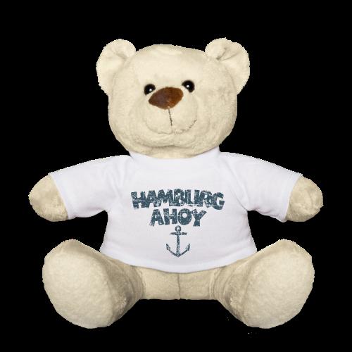 Hamburg Ahoy Anker (Vintage Blau) Teddybär - Teddy