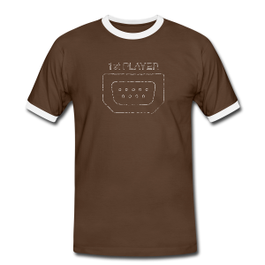 Port1 [1st PLAYER] - Men's Ringer Shirt