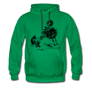 Hoodies & Sweatshirts ~ Men's Premium Hoodie ~ Thelwell Cheeky Pony
