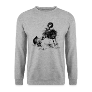 Hoodies & Sweatshirts ~ Men's Sweatshirt ~ Thelwell Cheeky Pony
