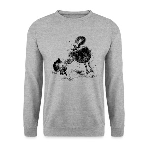 Thelwell Cheeky Pony - Men's Sweatshirt
