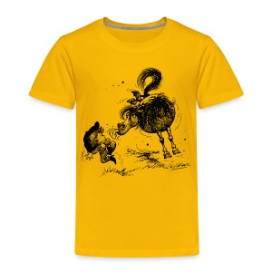 Thelwell Cheeky Pony - Kids' Premium T-Shirt