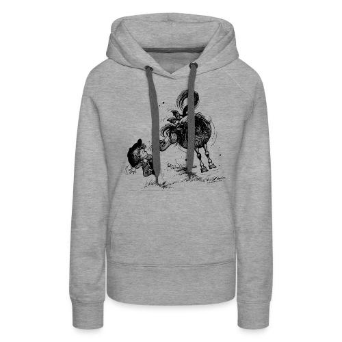 Thelwell Cheeky Pony - Women's Premium Hoodie