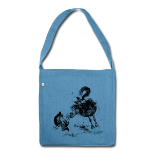 Thelwell Cheeky Pony - Shoulder Bag made from recycled material