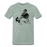 T-Shirts ~ Men's Premium T-Shirt ~ Thelwell Cheeky Pony