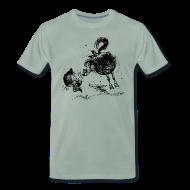 T-Shirts ~ Männer Premium T-Shirt ~ Thelwell Cheeky Pony