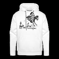 Hoodies & Sweatshirts ~ Men's Premium Hoodie ~ Thelwell Western Rodeo