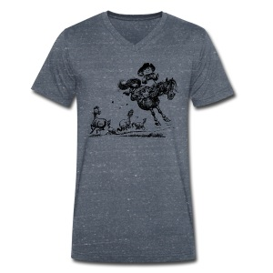 Thelwell Western Rodeo - Men's Organic V-Neck T-Shirt by Stanley & Stella