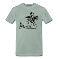 T-Shirts ~ Men's Premium T-Shirt ~ Thelwell Western Rodeo