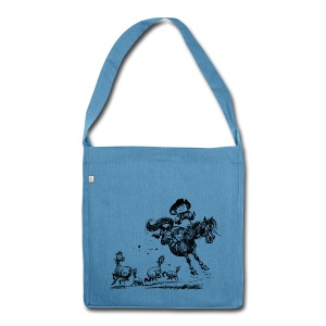 Thelwell Western Rodeo - Shoulder Bag made from recycled material