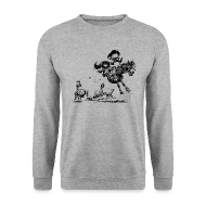 Hoodies & Sweatshirts ~ Men's Sweatshirt ~ Thelwell Western Rodeo