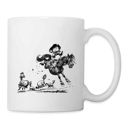 Thelwell Western Rodeo - Mug