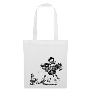 Thelwell Western Rodeo - Tote Bag