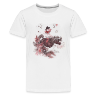 Shirts ~ Teenage Premium T-Shirt ~ Thelwell Pony outside in the nature