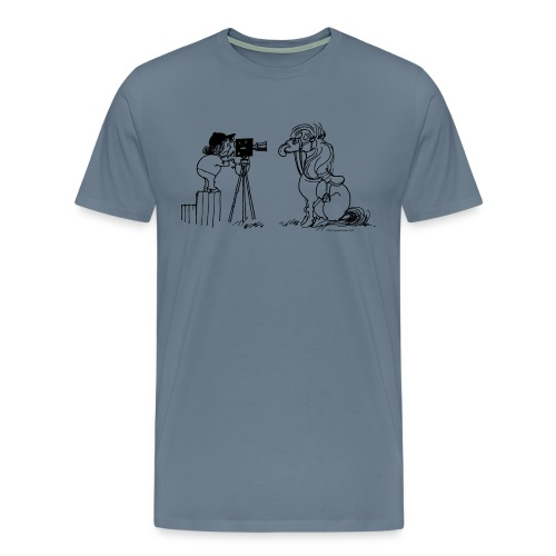 Thelwell Pony Fotoshooting Say cheese - Männer Premium T-Shirt