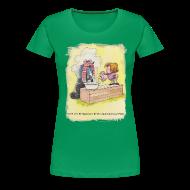 T-Shirts ~ Women's Premium T-Shirt ~ Thelwell Pony is rheumy