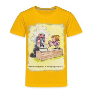 Thelwell Pony is rheumy - Kinder Premium T-Shirt