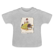 Baby Shirts  ~ Baby T-Shirt ~ Thelwell Pony is sleeping