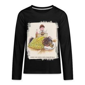 Thelwell Pony is sleeping - Teenagers' Premium Longsleeve Shirt