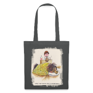 Bags & Backpacks ~ Tote Bag ~ Thelwell Pony is sleeping