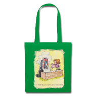 Bags & Backpacks ~ Tote Bag ~ Thelwell Pony is rheumy