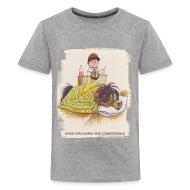 T-Shirts ~ Teenager Premium T-Shirt ~ Thelwell Pony is sleeping