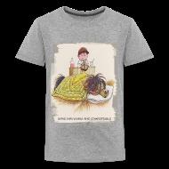 T-Shirts ~ Teenager Premium T-Shirt ~ Thelwell Pony is sleeping