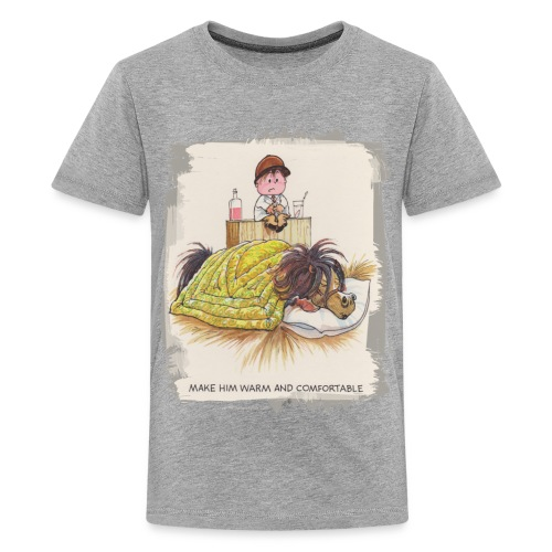 Thelwell Pony is sleeping - Teenager Premium T-Shirt