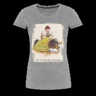 T-Shirts ~ Women's Premium T-Shirt ~ Thelwell Pony is sleeping