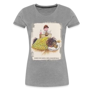 Thelwell Pony is sleeping - Frauen Premium T-Shirt