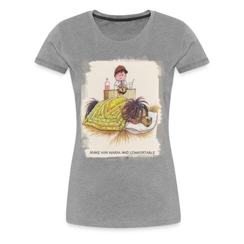 Thelwell Pony is sleeping - Women's Premium T-Shirt