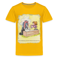 T-Shirts ~ Teenager Premium T-Shirt ~ Thelwell Pony is rheumy
