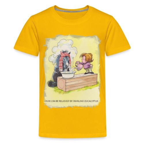 Thelwell Pony is rheumy - Teenager Premium T-Shirt