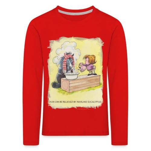 Thelwell Pony is rheumy - Kids' Premium Longsleeve Shirt