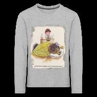 Long Sleeve Shirts ~ Kids' Premium Longsleeve Shirt ~ Thelwell Pony is sleeping