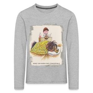 Thelwell Pony is sleeping - Kids' Premium Longsleeve Shirt