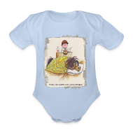 Baby Bodysuits ~ Baby Bodysuit ~ Thelwell Pony is sleeping