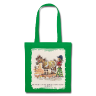 Bags & Backpacks ~ Tote Bag ~ Thelwell Pony with hairdresser